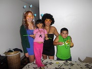 bild på mig, Amparo, Toña och Sergito